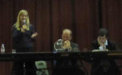 Nicola Blackwood Speaking at the hustings