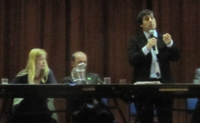 Dr Harris Speaking at the hustings