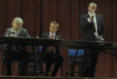 Ukip Candidate Speaking at the hustings