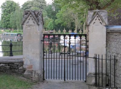 Gate by Brick Alley