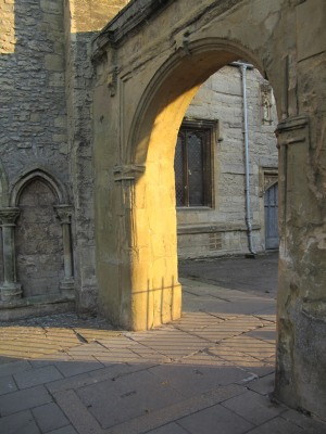 Archway to the Church Yard