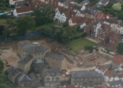 Old Gaol From Air