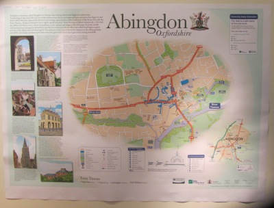 New Abingdon Town Maps