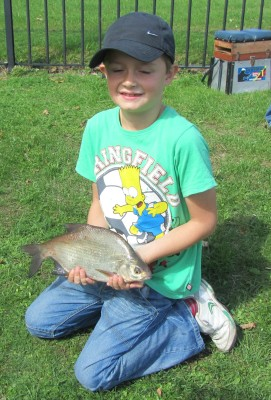 Mayors Junior Fishing Competition