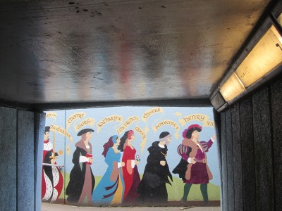 Underpass Mural and Graffiti