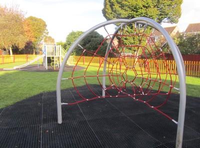 Spider Web Climbing