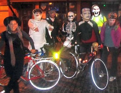Freewheeling cycling group
