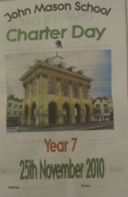 John Mason Charter Day