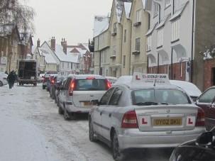 Frozen Cars