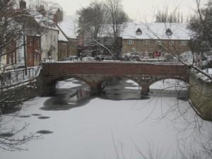 Frozen Mill Stream