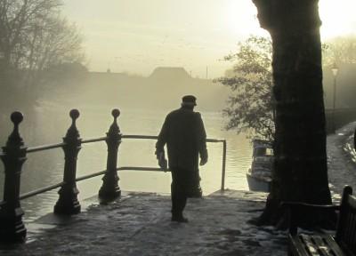 Mist as temperatures rise