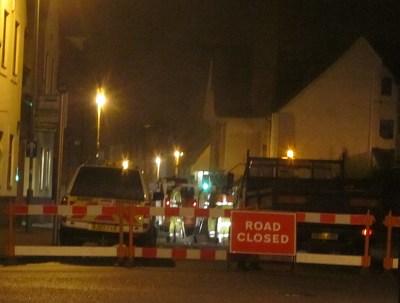 Stert Street being resurfaced