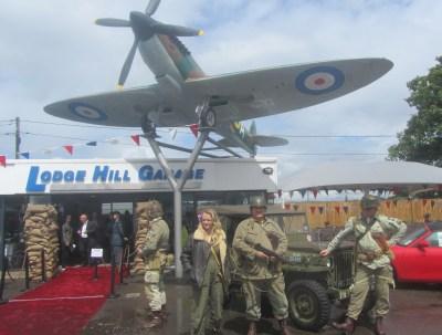 Spitfire Launch