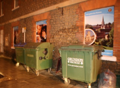 Bins without a home