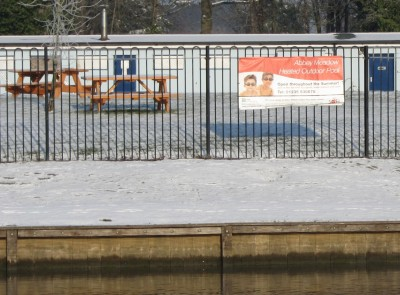 Abingdon blog snow and ice and a little creative thinking for Abingdon swimming pool opening times