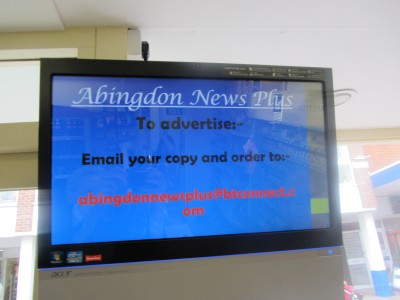 Advertising at Abingdon News Plus
