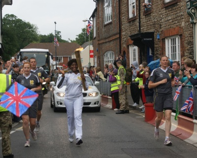 Olympic Torch through Abingdon