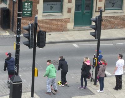 Talking Pedestrian Crossing