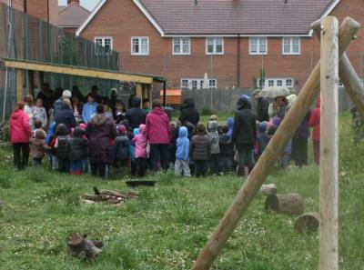 Caldecott Meadow Opening