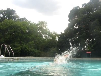Abingdon blog a well managed evening swim for Abingdon swimming pool opening times
