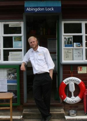 New Abingdon Lock Keeper
