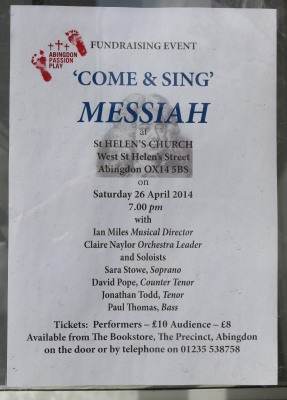 Come and Sing Messiah