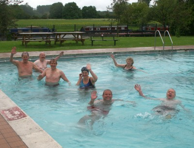 Opening the Abbey Meadows Open Air Pool