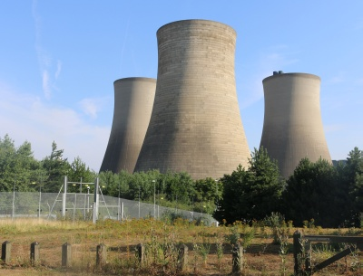six cooling towers