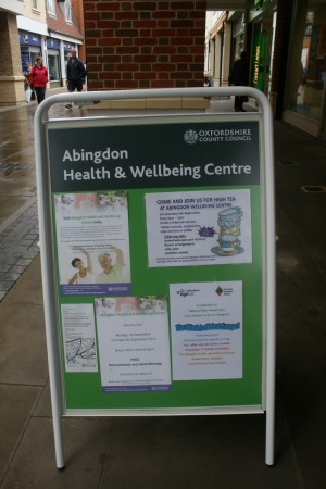 Abingdon Health & Wellbeing Centre – in the Community Shop
