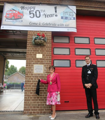 Fire Station 50th anniversary