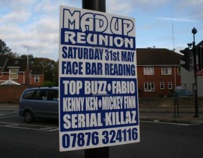 Street Advertising in Abingdon