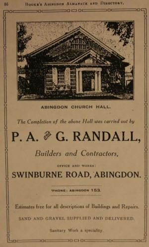 Abingdon Church Hall