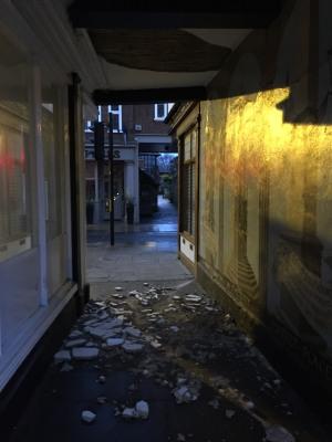 Plaster Fall