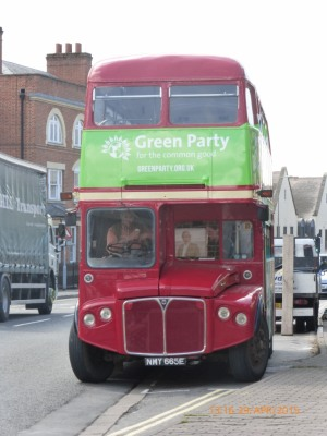 Green Party Bus
