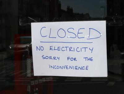 Power Cut Abingdon High Street