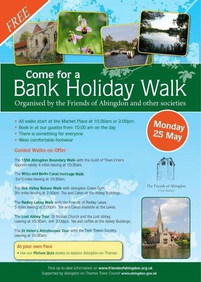 Bank Holiday Walks