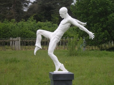 Sculpture in The Vineyard