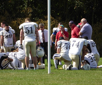Oxford Saints kneel