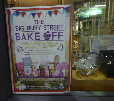 Bury Street Bake Off