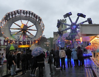 A wet start to the Fair