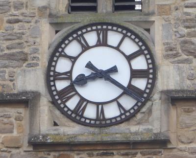 Clocks went back