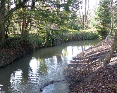 Christmas EveThe Mill Stream