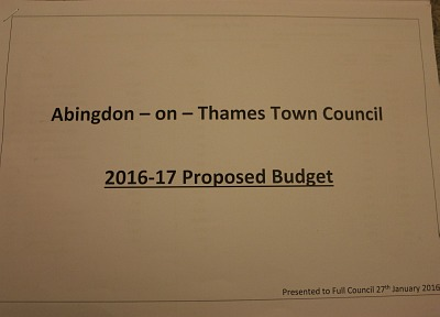 Abingdon Town Council Meeting