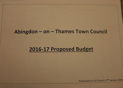Abingdon Town Council Meeting