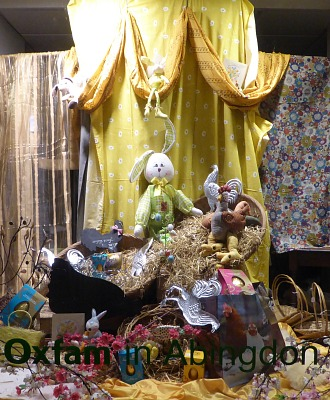 Easter Shop Displays