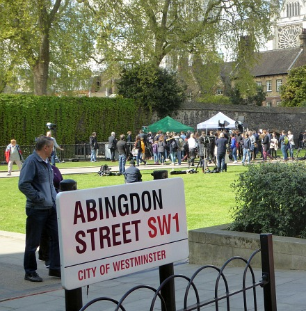 Journalists descend on Abingdon Street