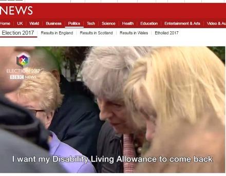 PM Theresa May in Abingdon