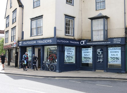 Outdoor Traders Closing