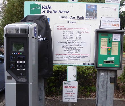 Carpark Ticket Machine