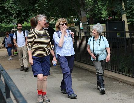Abingdon Drama Club Walk